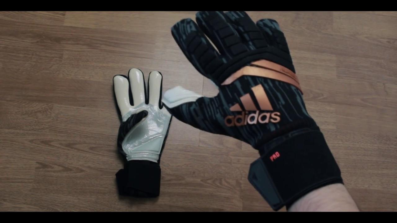 fe8816ce2063 adidas Predator Pro goalkeeper gloves - YouTube