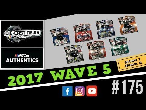 NASCAR Die-Cast News 175 ( NASCAR Authentics Wave 5 Reveal)