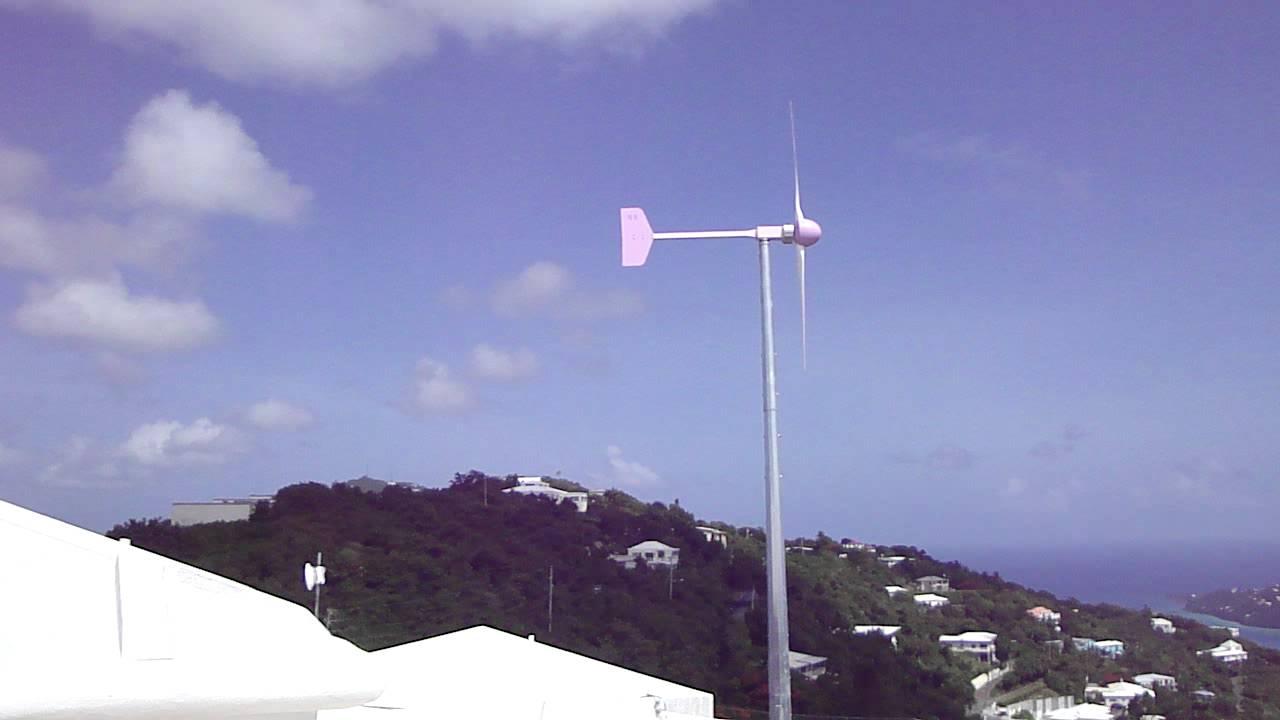 Eoltec Wind Generator next to Home