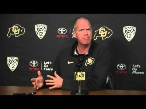 Tad Boyle End of Year Press Conference