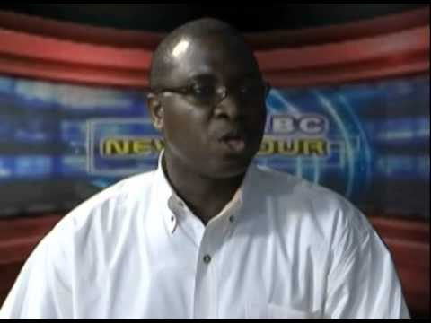 Sierra Leone Interview on TV   2011 Youtube