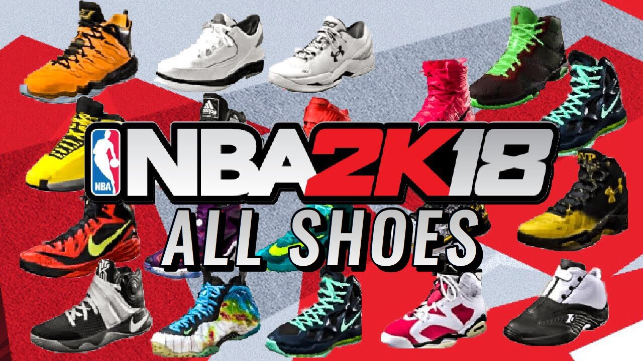 74e32d2fc81a9b All Shoes - NBA 2K18 - YouTube