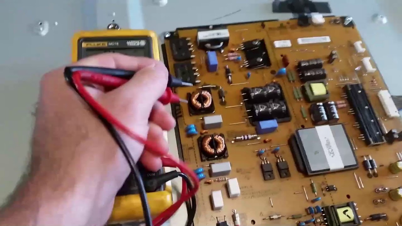 Lg Tv Repair No Power On Led Light Blinks Youtube There Are 2 Boards The Main Board And A Second One For Controls