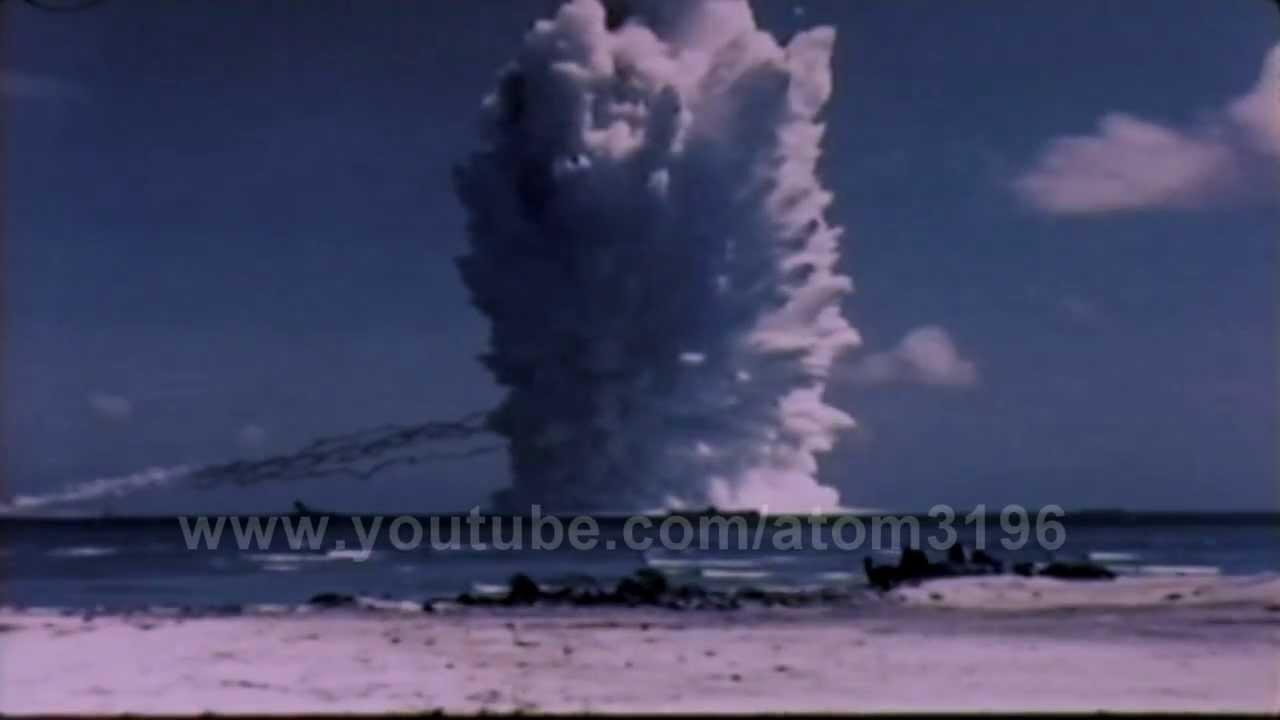 HD tsunami bomb underwater nuclear explosion 1958 ...