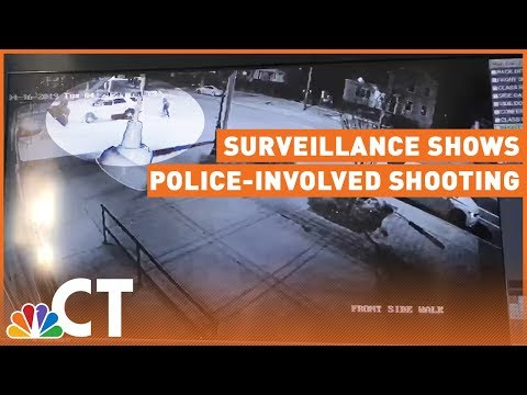 Surveillance Footage Shows New Angle of Police-Involved Shooting in New Haven | NBC Connecticut