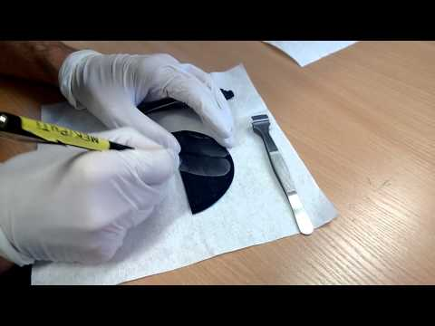 Cleaving a silicon wafer