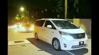 Police cars, truck arrive at Najib's residence