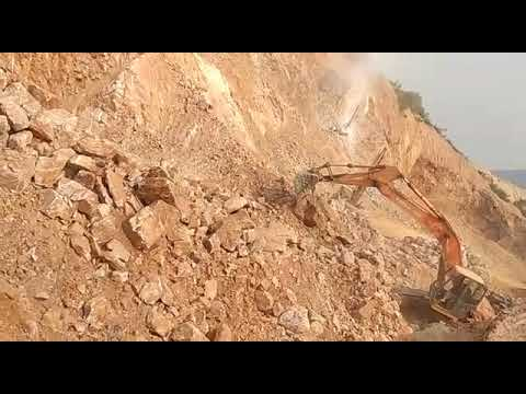 Mining activity of Quartzite at our Mines - 1