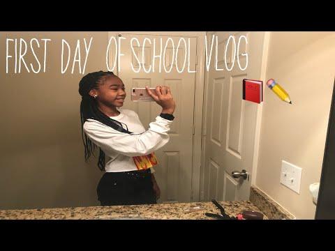 First Day of 7th grade grwm/vlog