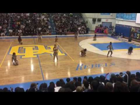 QHHS African Dance Performance (Multicultural Assembly 2017)