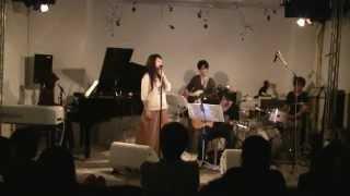 中村かおり 初企画イベント2011@北参道ストロボカフェ 演奏:中村バンド.
