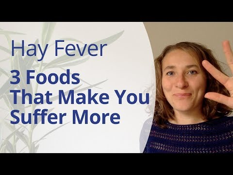 Stop Eating These 3 Foods to Relieve Your Hay Fever, Pollen or Ragweed Allergy