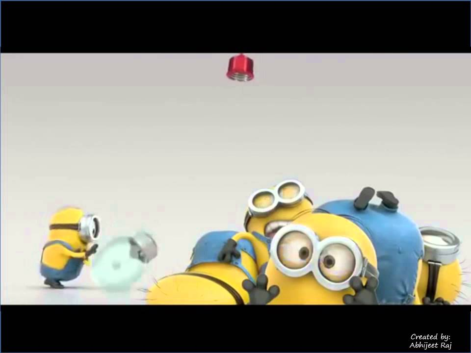 Happy New Year 2015 by Minions - YouTube