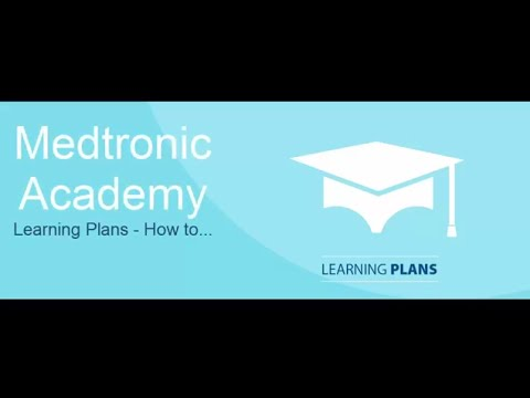 Medtronic Academy – Learning Plans