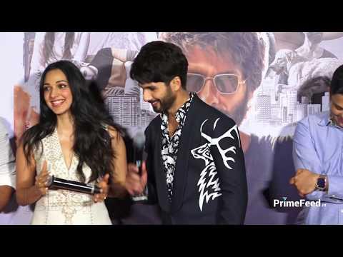 Kaira Advani EMBARRASSED When Asked KISSING Shahid Kapoor At Kabir Trailer Launch