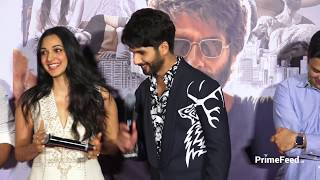 Kaira Advani EMBARRASSED When Asked KISSING Shahid Kapoor At Kabir Trailer Launch