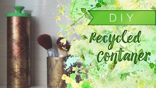 DIY: Recycle a container of your favourite snacks Thumbnail