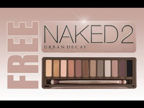 Free Makeup Give Away Urban Decay Naked 2 Palette Airbrush System Inglot Costal Secnets