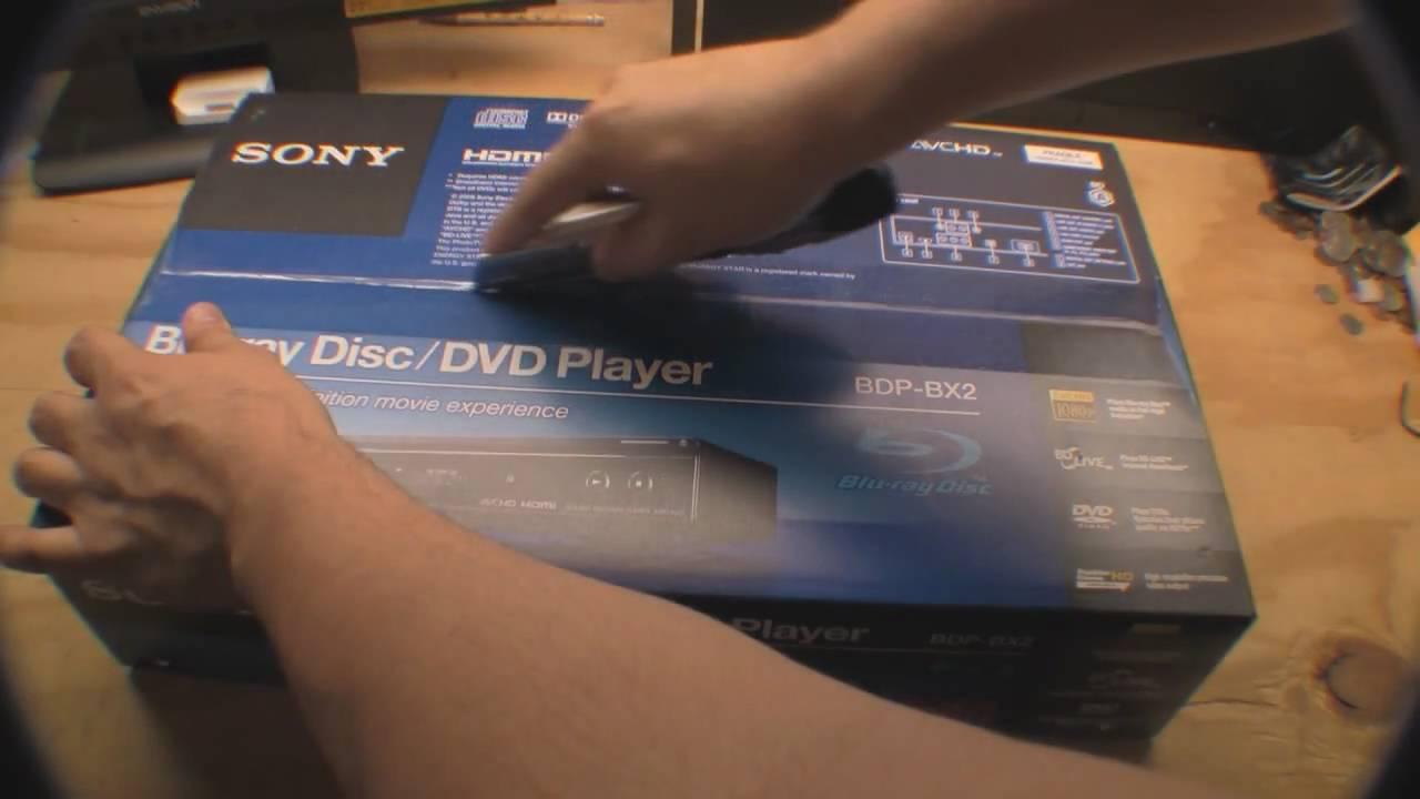 Sony BDP-BX2 Blu-ray Player Driver