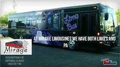 Limo Service & Party Bus/Limo Bus Rental in Phoenix, AZ |  Mirage Limousines