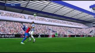 PES 2015 Fraizer Campbell Goal