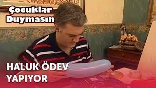 Haluk Ödev Yapıyor | Çocuklar Duymasın 9. Bölüm (ATV)