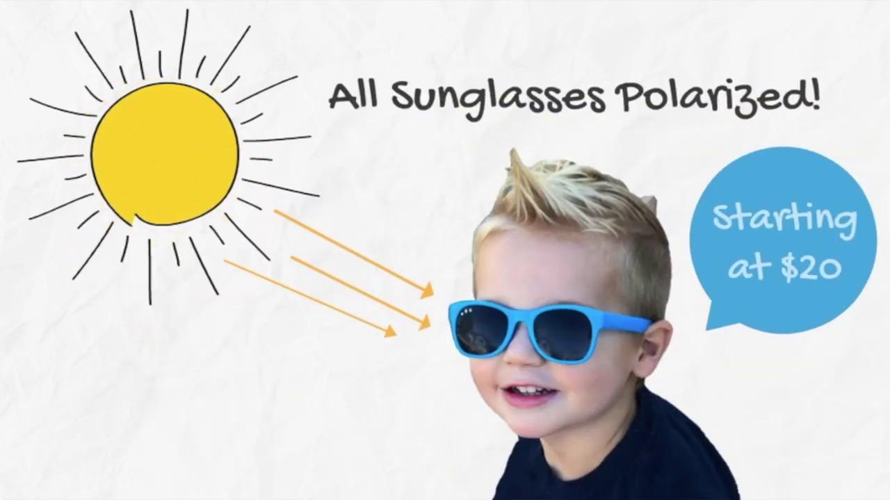 a5e76dae36 Polarized Roshambo Baby Sunglasses - Unbreakable
