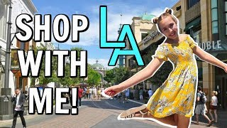 Come Shop With Me In the USA! - L.A Shopping Haul and Vlog!