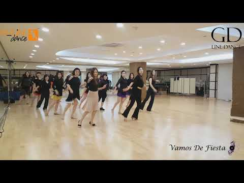 Vamos De Fiesta - Line Dance ( Duma Kristina S)