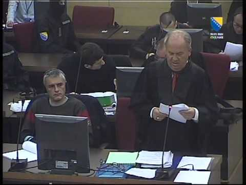 Suđenje Turković - Isljam Kalender 26.10.2011.  1 dio