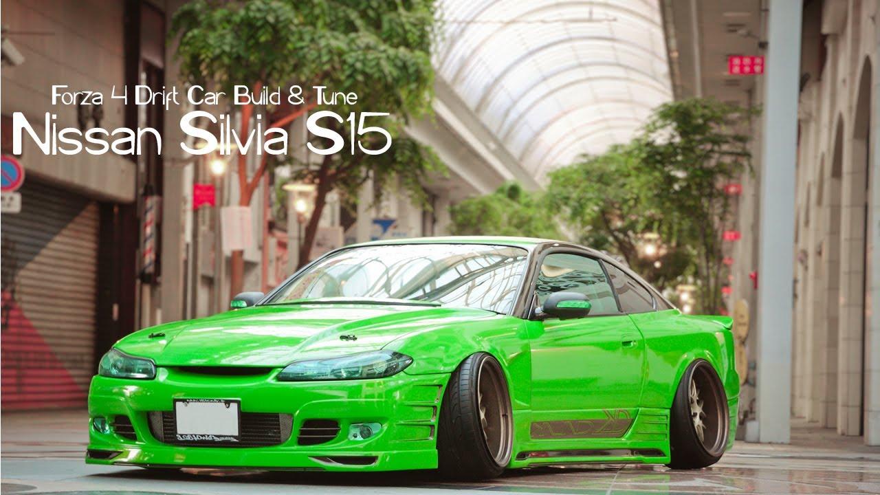 Forza Drift Car Building Tuning Silvia Youtube