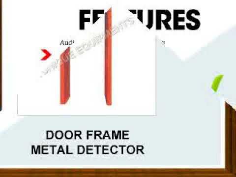 Door Frame Metal Detector Manufacturers
