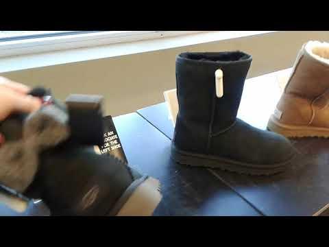 Настоящие УГГИ в американском обувном магазине. Ассортимент и цена