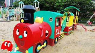 アンパンマン ミュージアム アニメ おもちゃ slマンアンパンマン号に乗れるよ ジャムおじさんのパン工場だってあるよ toy kids トイキッズ