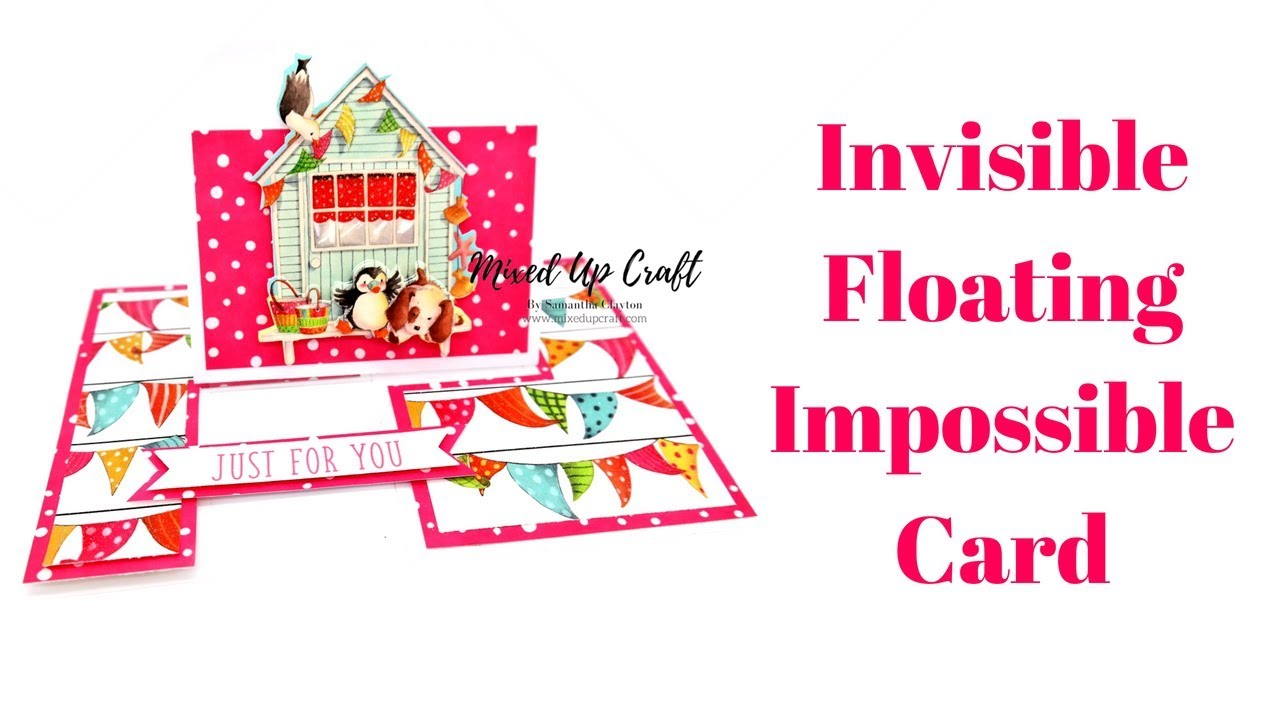 Invisible Impossible Card | Floating Impossible Card - YouTube