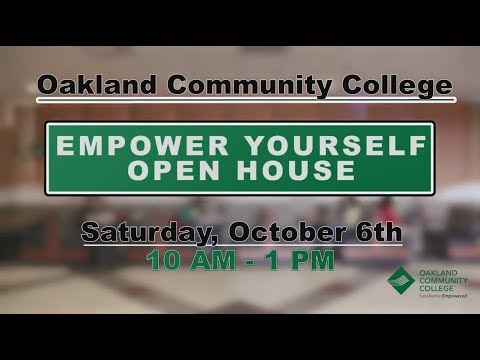SOSLive is at Oakland Community College on Oct. 6