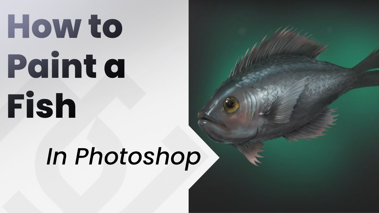 How to paint a fish youtube for How to paint a fish