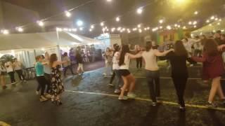 The circle of fun! St. Demetrios Merrick Festival, 2017