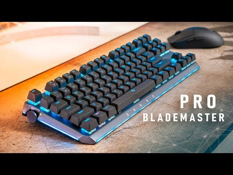 This Is The PERFECT Gaming Keyboard... Almost!  Drevo Blademaster Pro