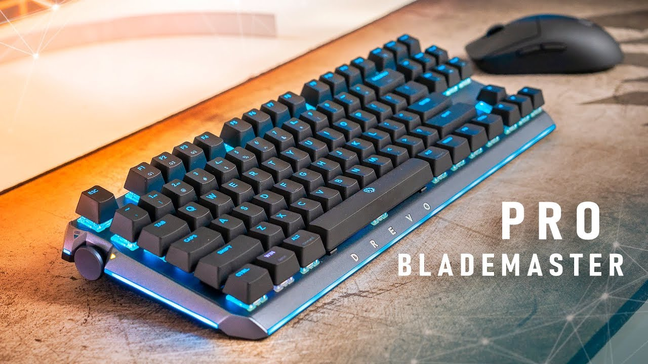 This Is The PERFECT Gaming Keyboard… Almost!  Drevo Blademaster Pro
