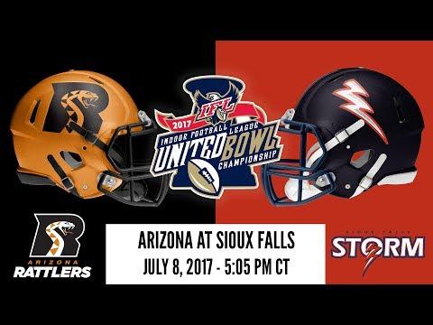2017 United Bowl | Arizona at Sioux Falls (Rattlers Radio)