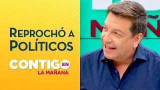 JC Rodríguez bajó del carro de la victoria a políticos por Nueva Constitución - Contigo en La Mañana