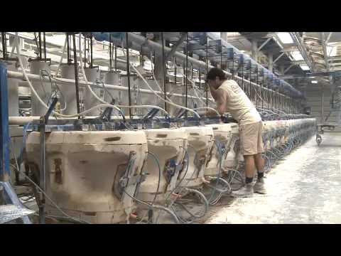 De la f brica a tu casa 1x03 sanitarios y toallas for Fabrica de sanitarios roca