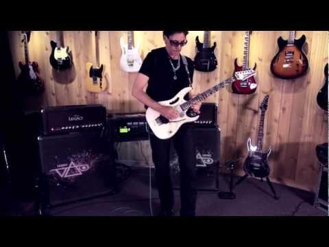 """Steve Vai """"Racing the World"""" At: Guitar Center"""
