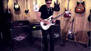 "Steve Vai ""Racing the World"" At: Guitar Center"