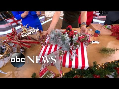 'GMA' Holiday Makeoff: Gift Wrapping Competition