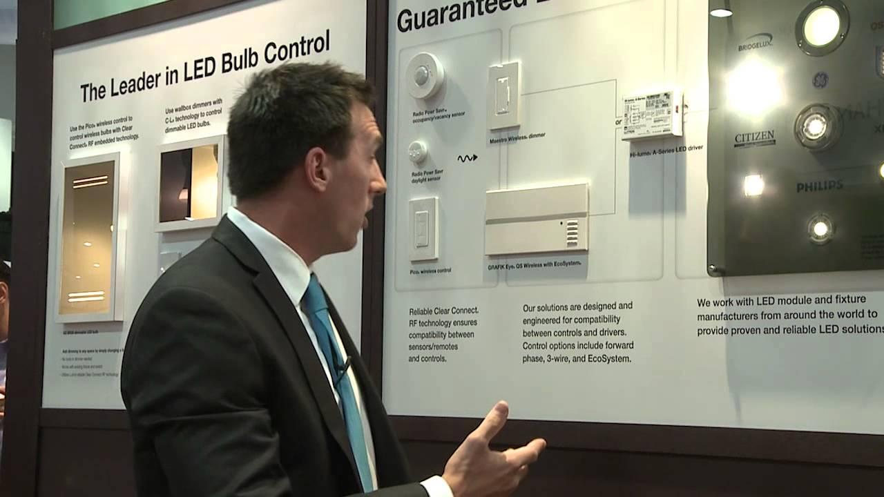 LED Lighting Control by Lutron Electronics - YouTube