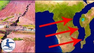 (2nacheki)Africa is Splitting in Two at The Rift Valley to Form a New Continent