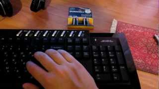 Обзор беспроводной клавиатуры+мышь OKLICK 230M от Gerki