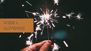 Enliven Up! Series, Week 1:  Aliveness Intro